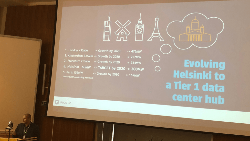Ficolo CEO Seppo Ihalainen, evolving helsinki to tier 1 data center hub
