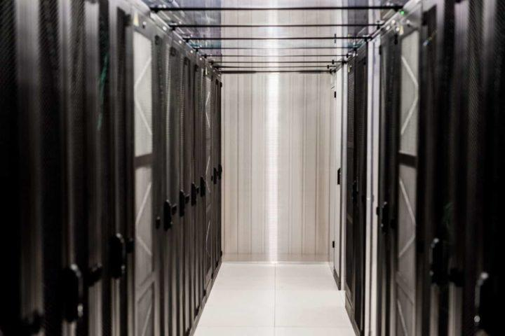 Ficolo the Rock data center whitespace, after the sale and leaseback deal Protacon equipment was placed in The Rock