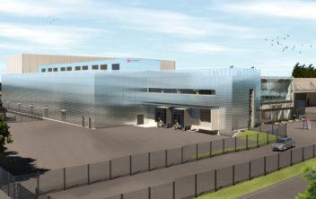 Ficolo The Air - Cloud Delivery Center concept photo. The next generation data center in Helsinki Finland.