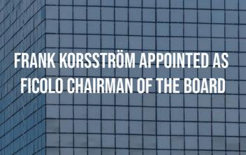 Ficolo The Air - facade. Frank Korsström appointed the chairman of the board.